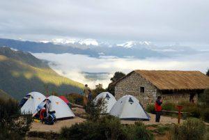 Inca trail camp (Campsite)