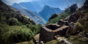 Inca trail landscape
