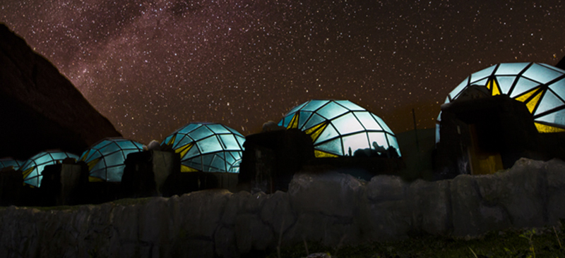 Sky camp in Soraypampa