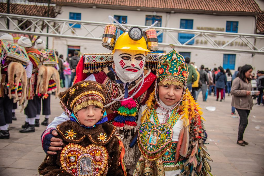 Niños andinos San Sebastián Cusco