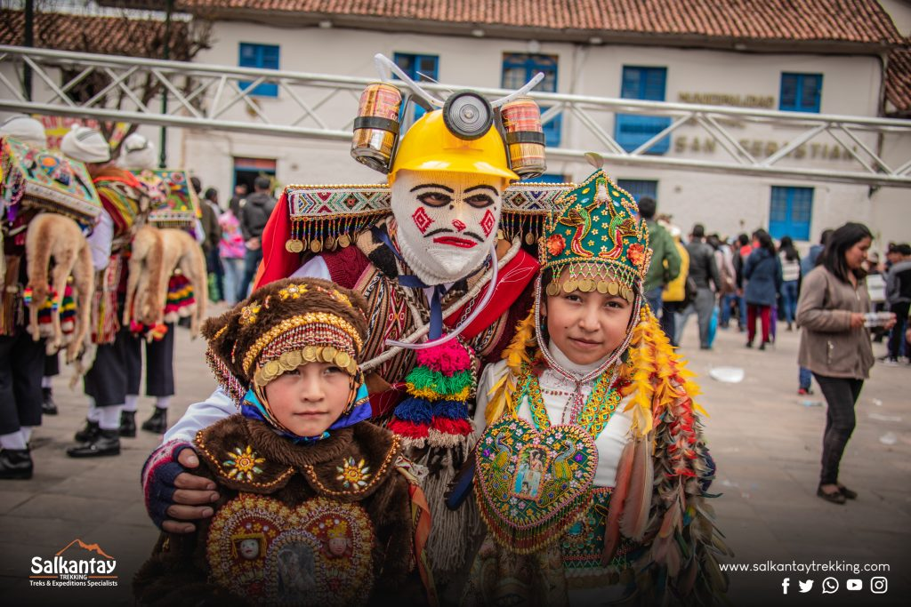 Little children are the future of andean culture and tradition.
