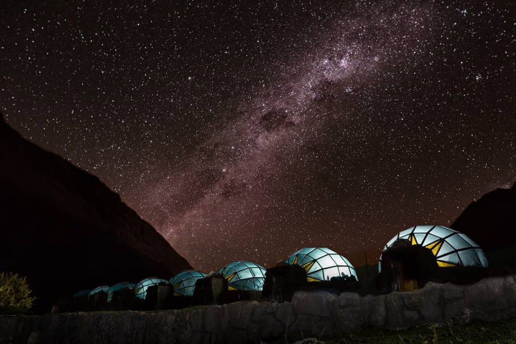 Milky way and sky camp