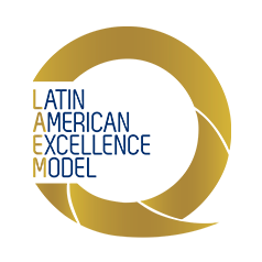 Latin american excellence model logo