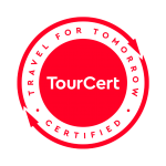 Tourcert logo - Traveler for tomorrow certified