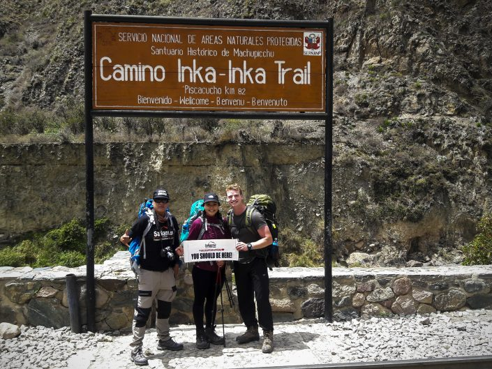 to walk the Inca Trail to the citadel of Machu Picchu