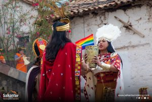 Inca couple
