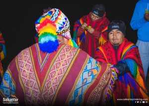 Ancestral ceremony to Pachamama