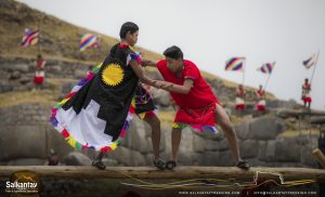bravery and dexterity in Warachikuy ceremony
