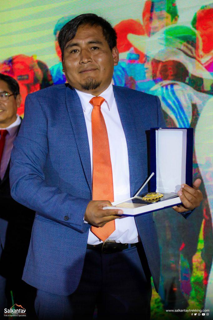 Mister Edgar Catunta, General manager of Salkantay Trekking