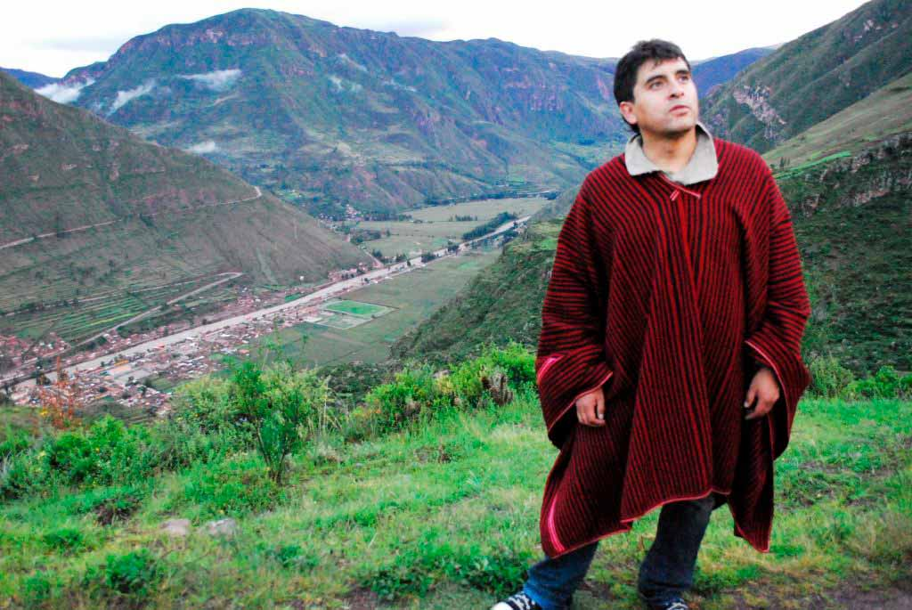 William Luna at the Sacred Valley in Cusco