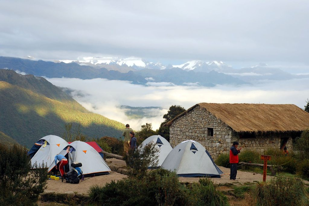 Inca trail camp (Campsite)