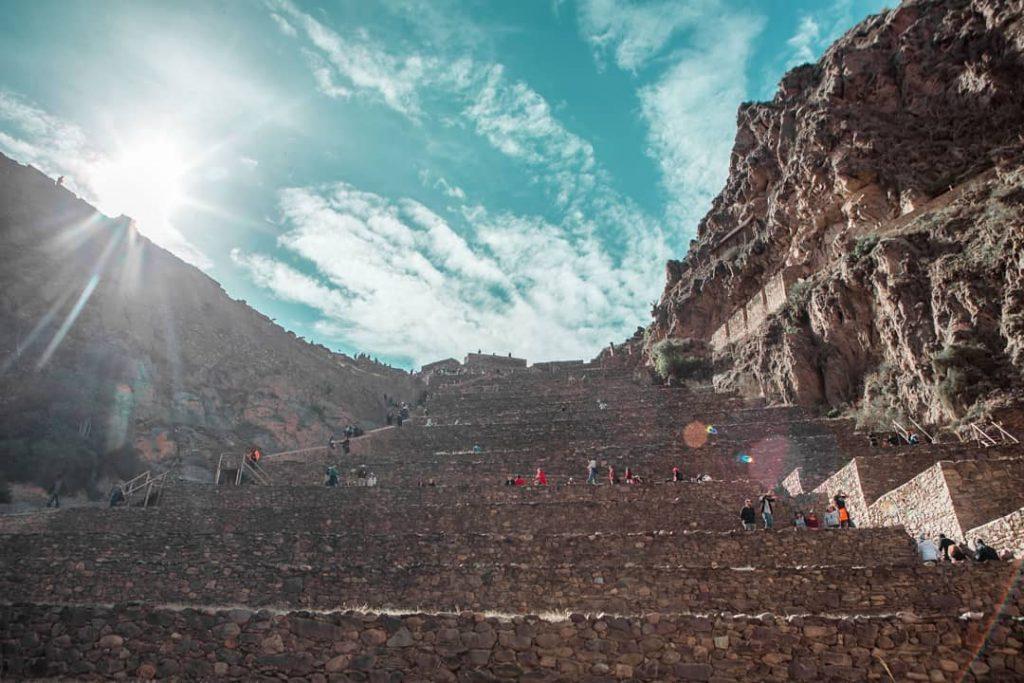 Archeological site in Cusco