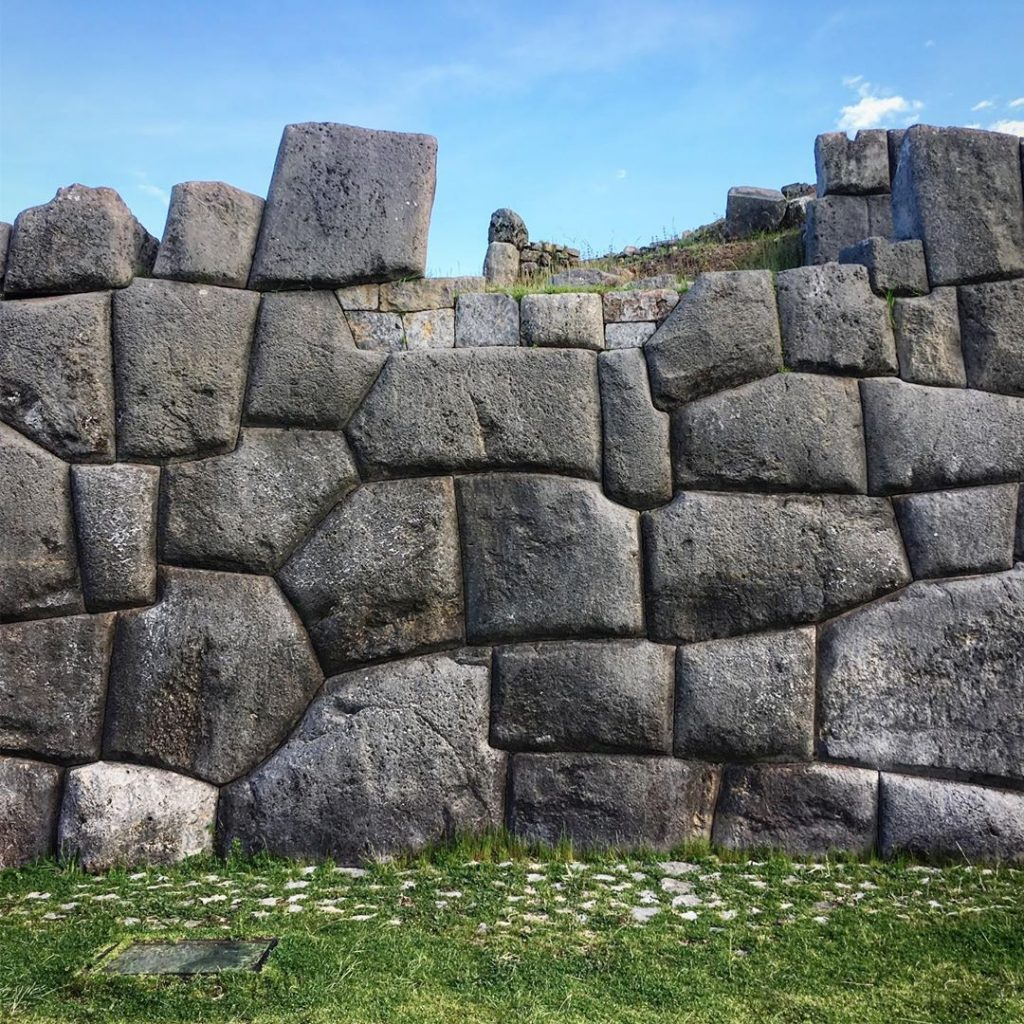 Photo by: @christopherjamesbotham  Sacsayhuaman Inca archaeological center located in the city of Cusco