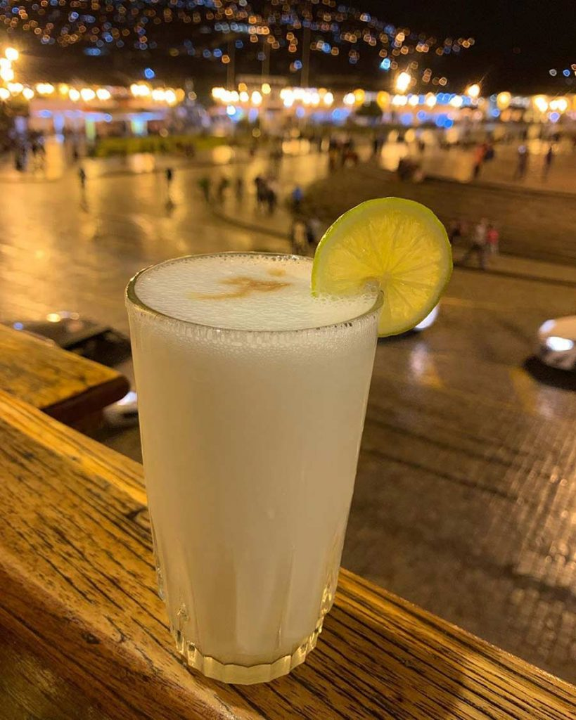 Pisco big representation peru tastes
