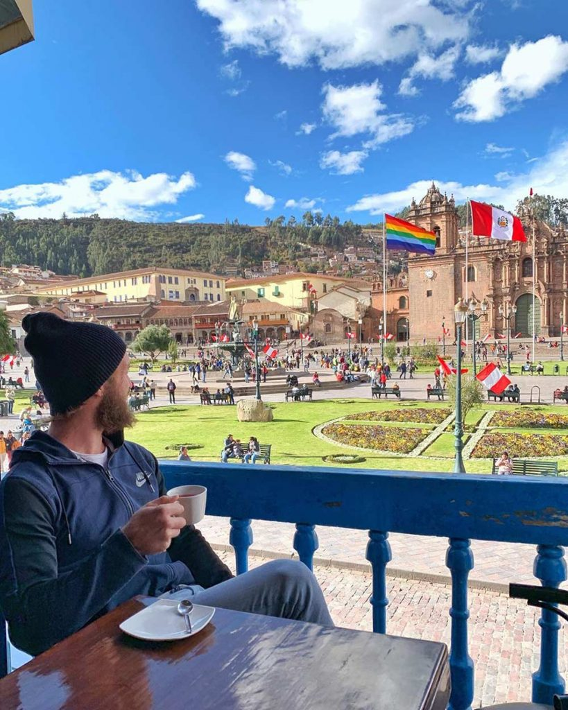 Enjoy some time in the Plaza de Armas of CUsco