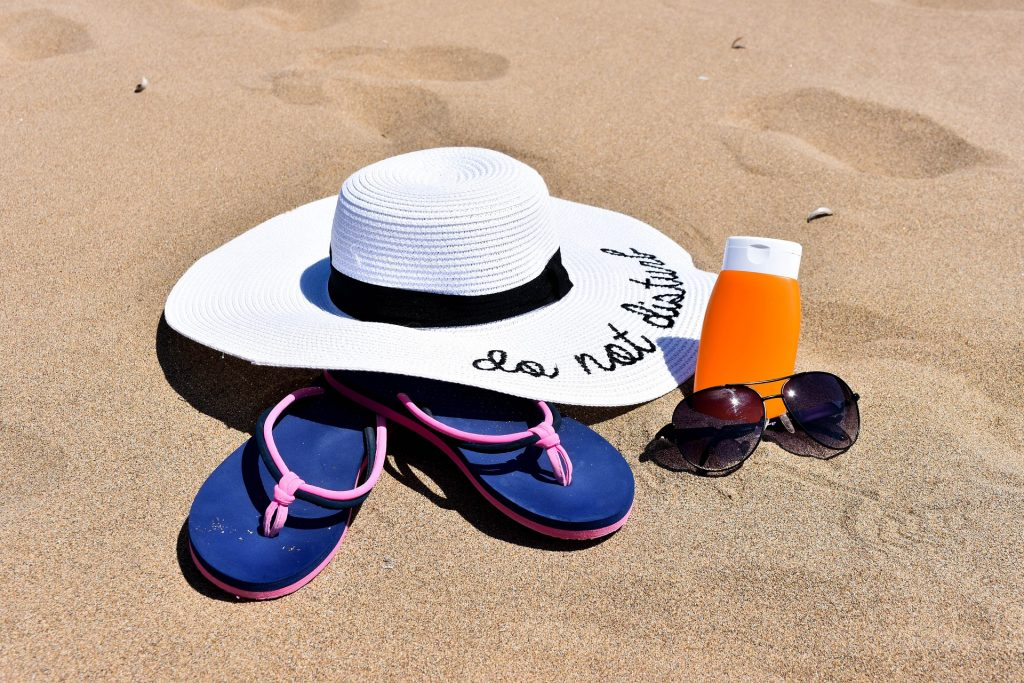 Sunhat-sunglasses