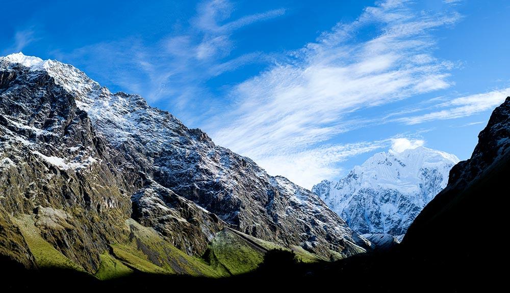 snowy-salkantay-vilcabamba-mountain -range