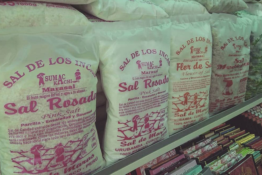 Pink salt from the Andes