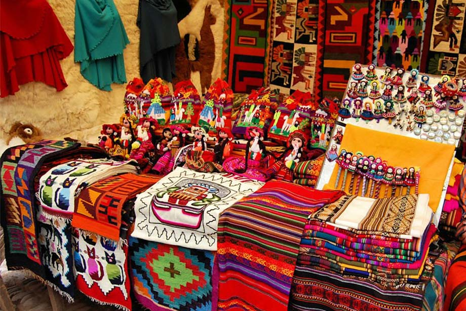 Souvenirs with many colors.