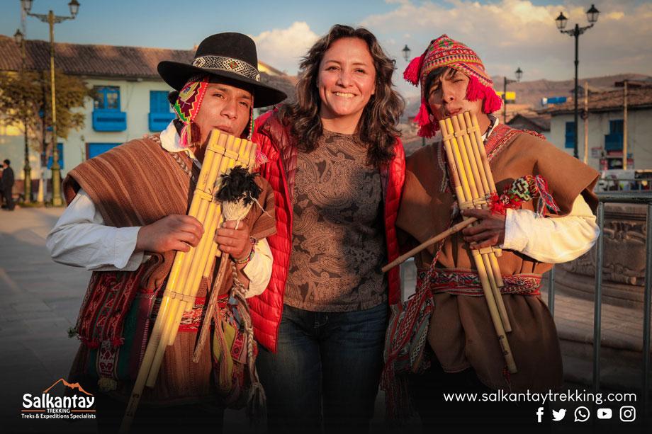 You can hear this music sicuri in Puno Cuzco in Peru