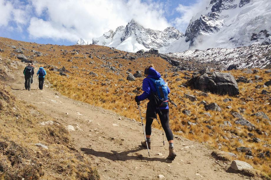 Experience diferent peruvian climates in Salcantay Trek