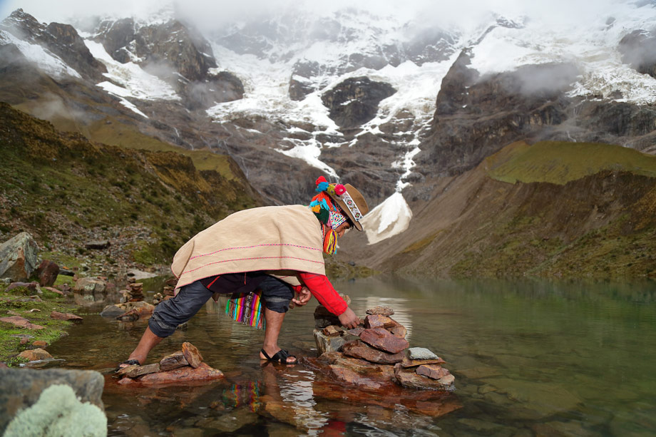 Experience how small communities live in the Andes
