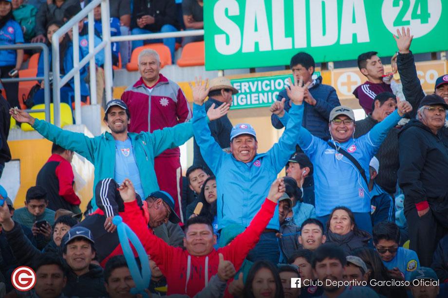 Deportivo garcilaso fans cusco cuzco stadium
