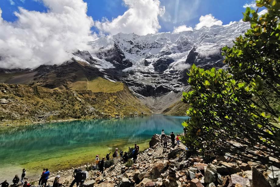 Humantay lake, Salkantay Trek to Machu Picchu