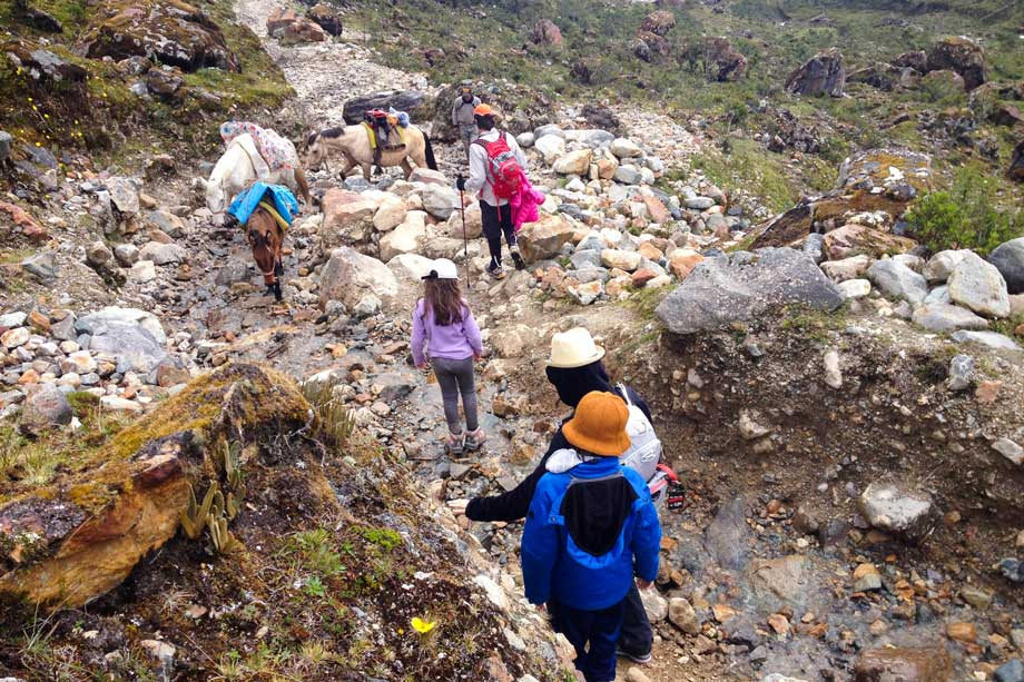 Kids can do it the Salkantay Trek