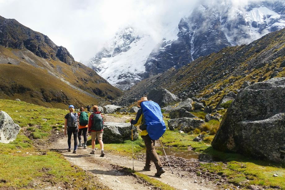 Less crowded, the Salcantay Trek alternative route to reach Machu Picchu