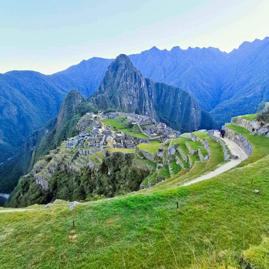 Machu Picchu , the New Seven Wonders of the World