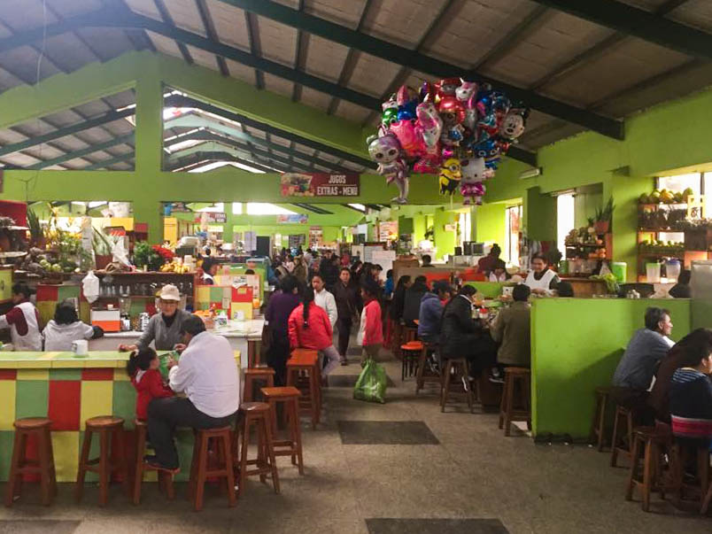 Market peruvian chinese cuisine food