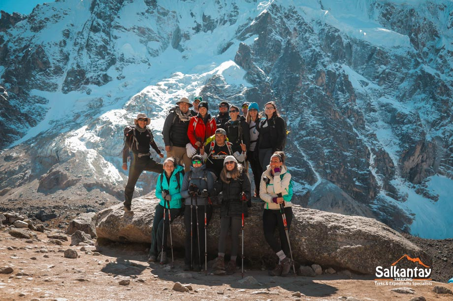 Trek Salkantay is the best option to travel to Humantay Lake
