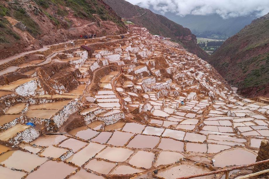 Salt Mines at Maras, Maras Moray, Sacred Valley of te Incas