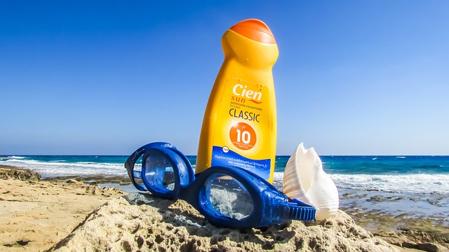 Sunscreen, specially for Cusco and beaches in Peru by Dimitris Vetsikas