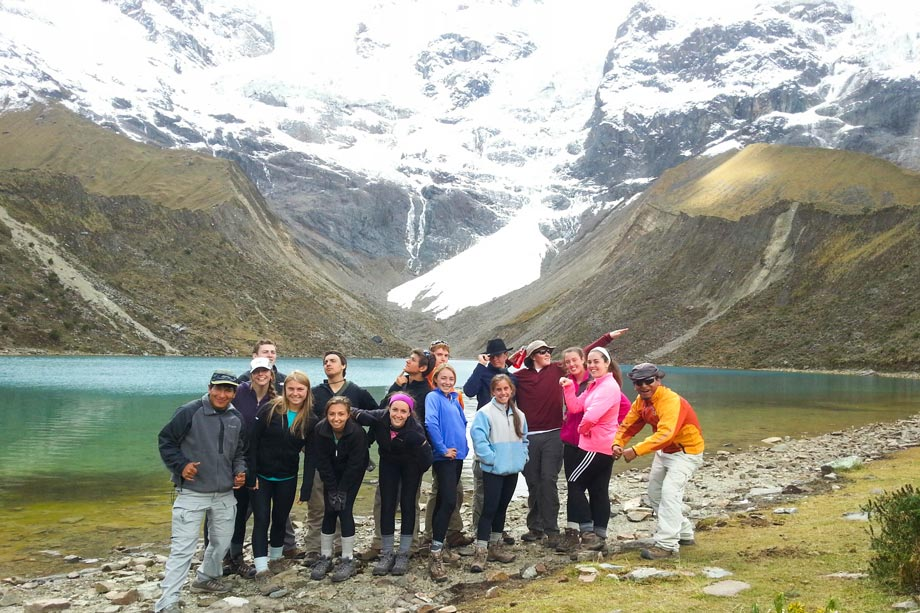 Visit Humantay Lake in the Salcantay Trek