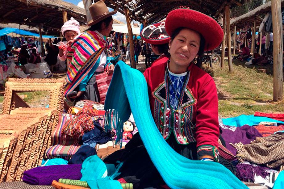 Weaving from Chinchero
