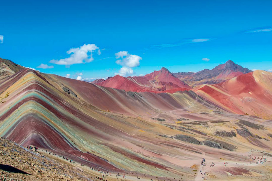 The Area be Preserved in the Rainbow Mountain