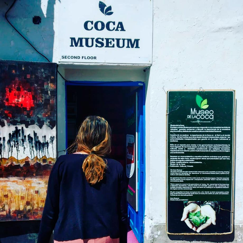 The Coca Museum in San Blas, Cusco