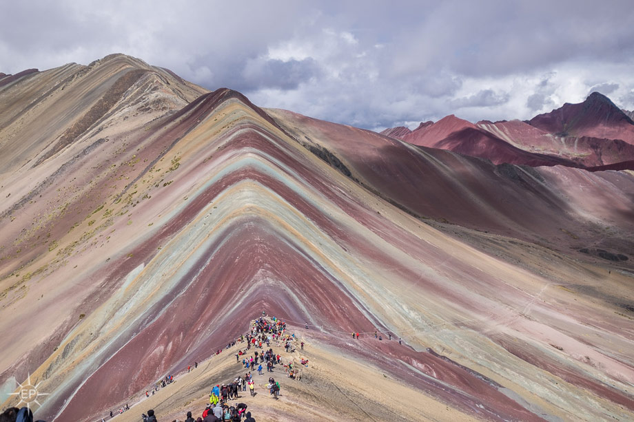 Colors of the Rainbow Mountain