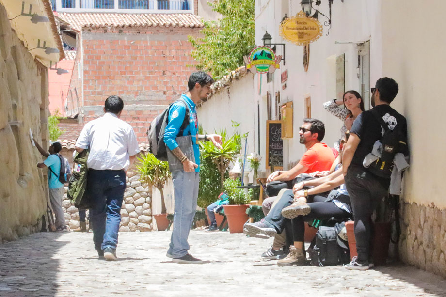 Practice your Spanish with the locals