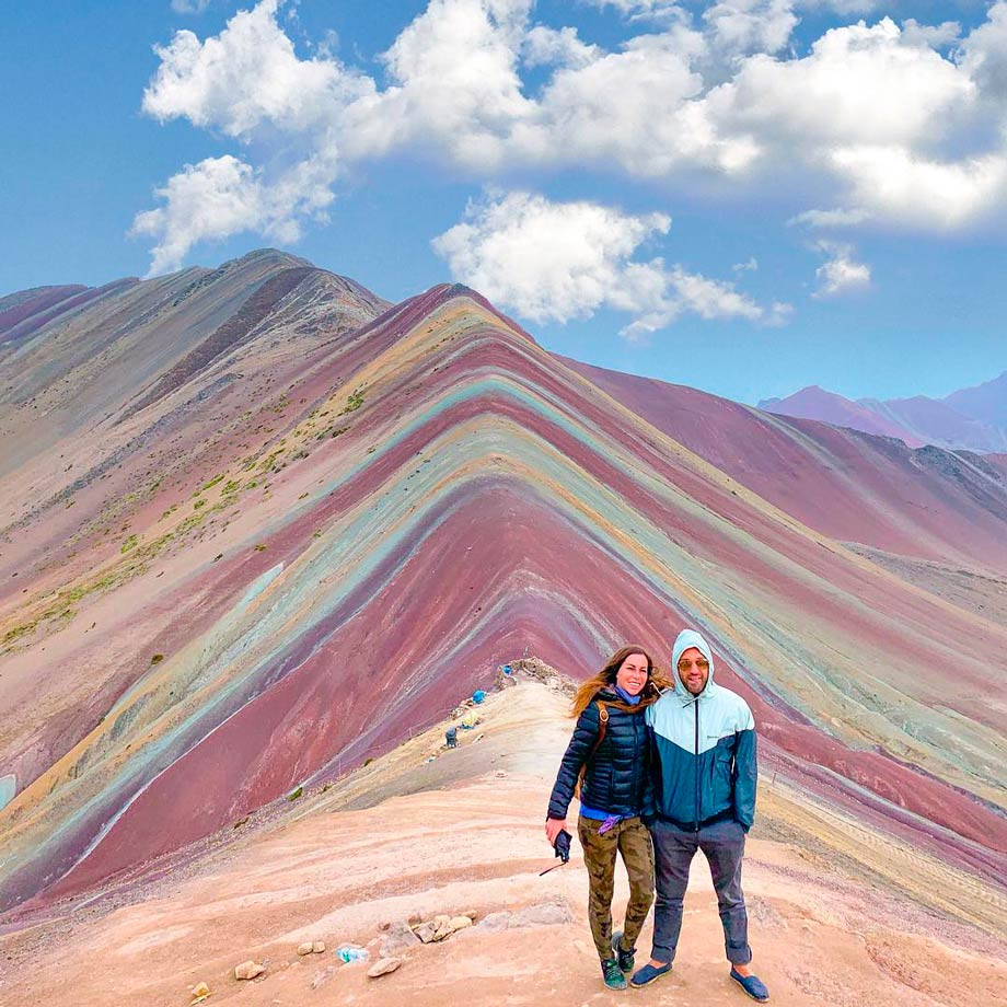 The Different Layers of Rainbow Mountain