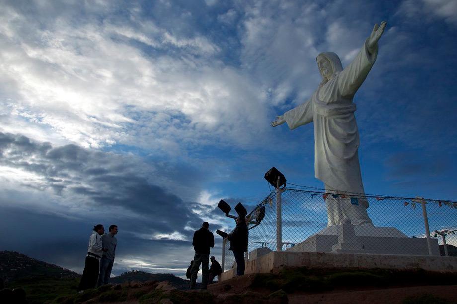 Enjoy a View Over Cusco, Cristo Blanco