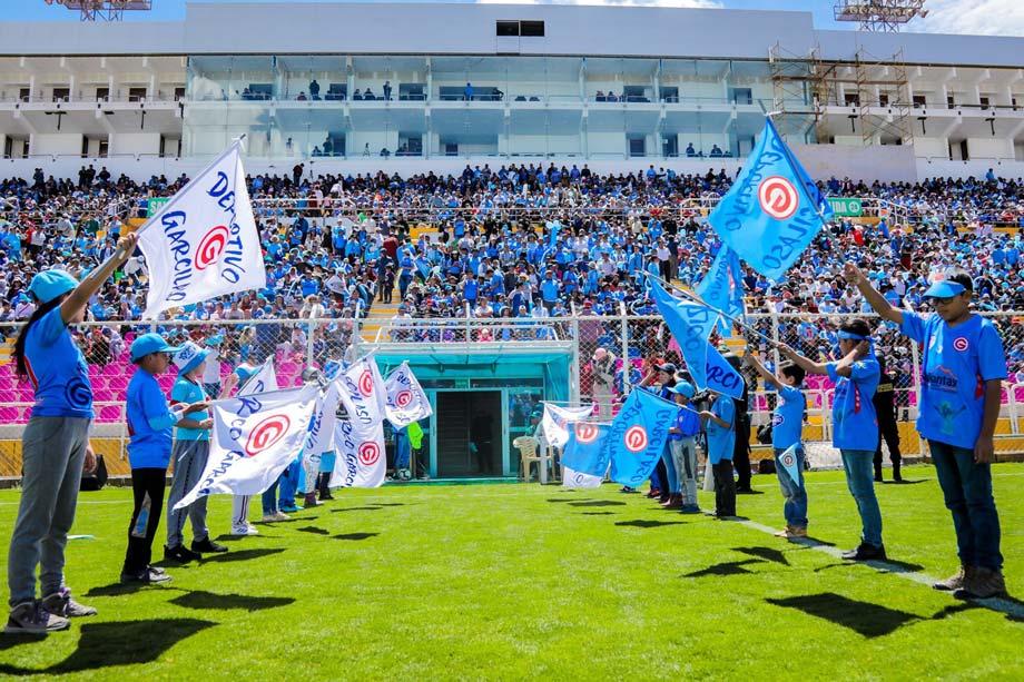 Go to the Stadium Inca Garcilaso de la Vega