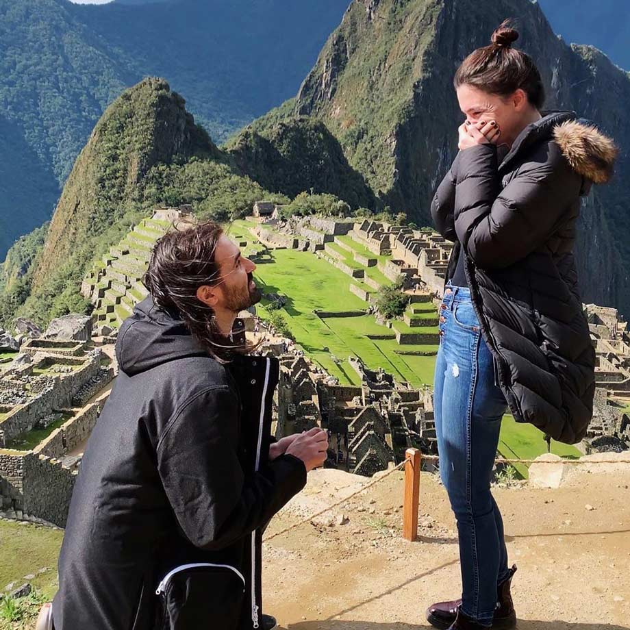 A Proposal at Machu Picchu, Jay Weinberg