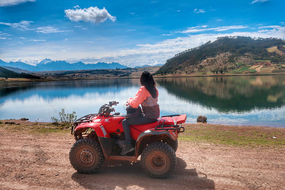 All terrain vehicles, ATVs, Sacred Valley