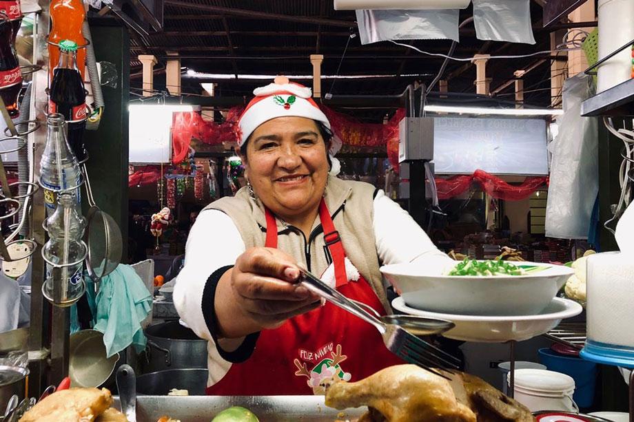 Caldo de Gallina, chicken soup, Peruvian Christmas Food