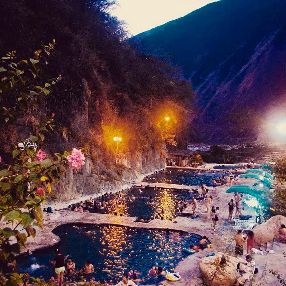 Cocalmayo hot spring, Santa Teresa