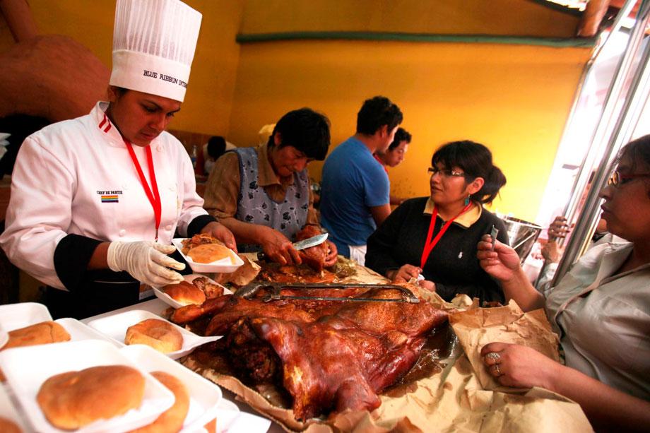 Pork (Lechon), Peruvian Christmas Food