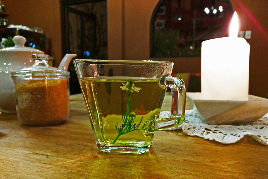 Chamoline tea